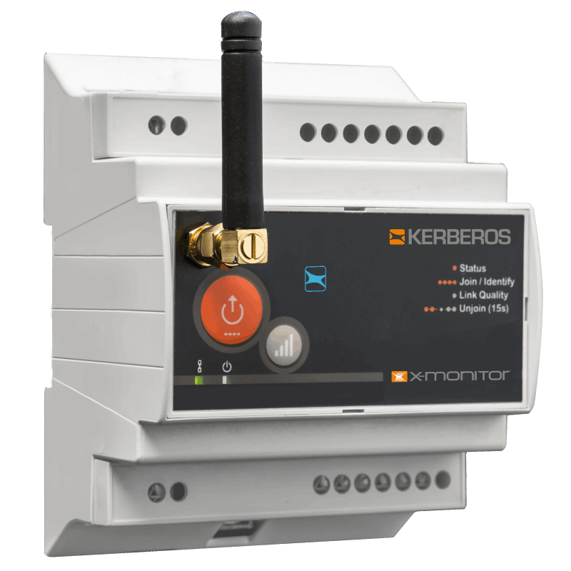 Modulo wireless con interfaccia ES in entrata e uscita - alim. 12-24VDC, 12-20VAC, 220VAC